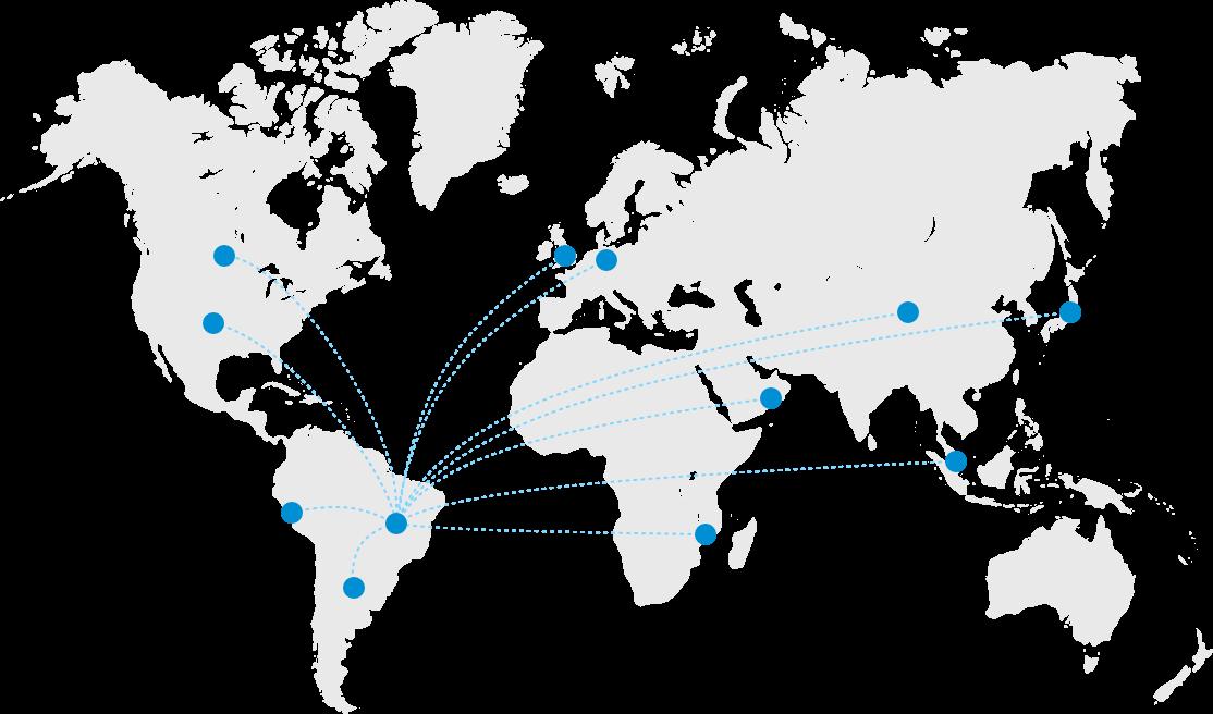 Empresa brasileira com atuação global
